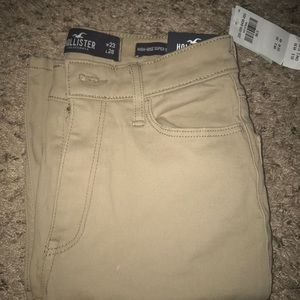 This is a never used hollister khaki pants